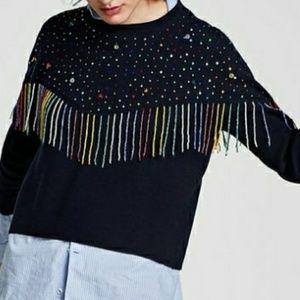 Small zara sweater